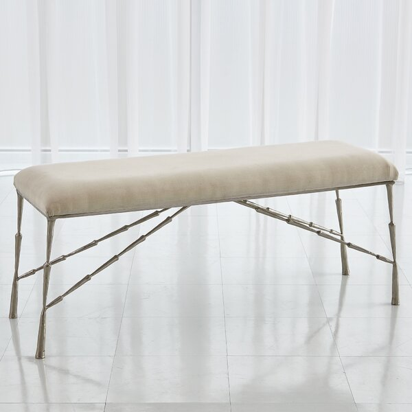 Spike Upholstered Bench by Studio A Home
