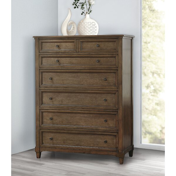 Sainte-Rose 7 Drawer Chest by Laurel Foundry Modern Farmhouse