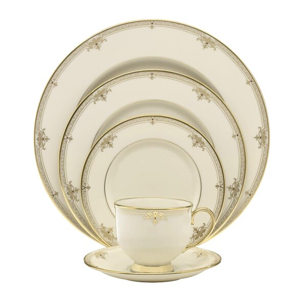 Republic Bone China 5 Piece Place Setting, Service for 1 by Lenox