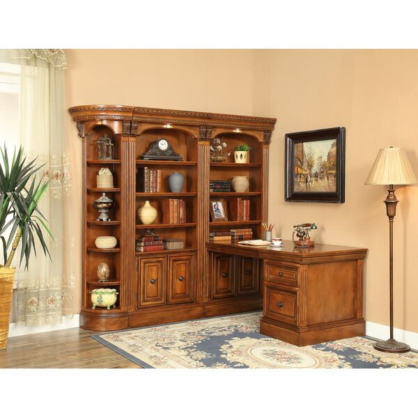 Glastonbury Corner Office Wall by Darby Home Co
