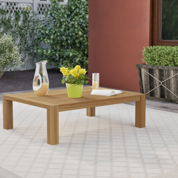Barrera Solid Wood Coffee Table by Foundry Select