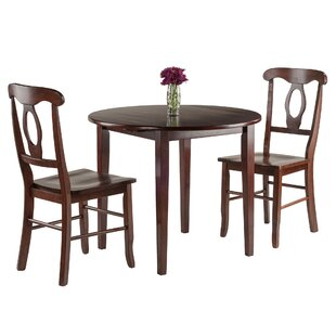 Kendall 3 Piece Drop Leaf Dining Set