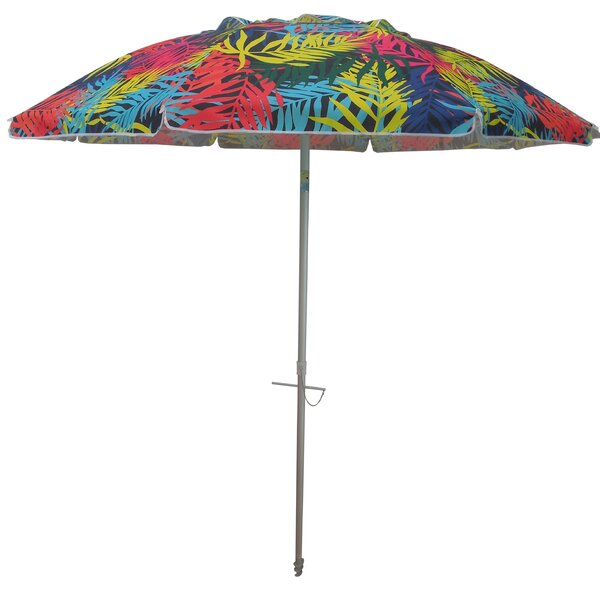 Tropical Palms 7' Beach Umbrella by Parasol Parasol