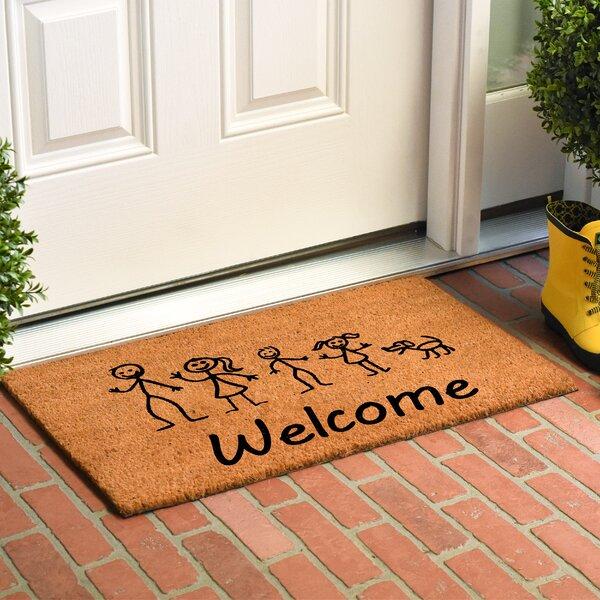 Kucharski Stick Family Doormat by Winston Porter