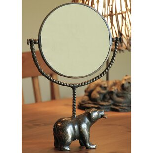 Affordable Price Bear and Fish Mirror By SPI Home