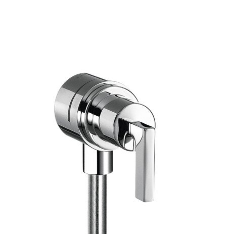 Axor Citterio Fix Fit Wall Outlet with Lever Handle by Axor