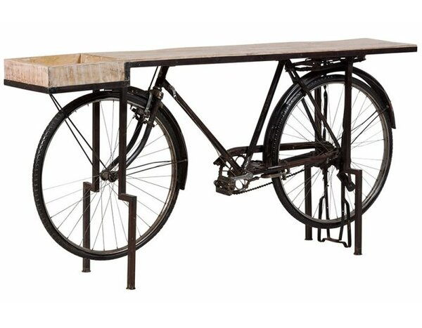 Durgin Bicycle Console Table by 17 Stories