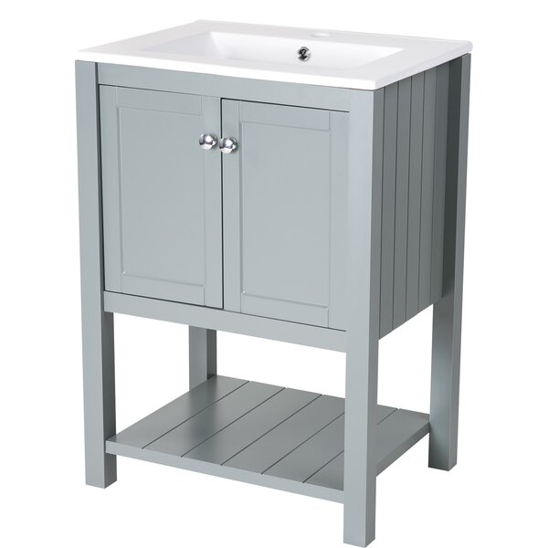 Jolicoeur 24 Single Bathroom Vanity by Lark Manor