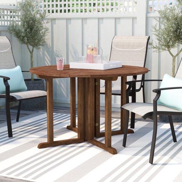 Folse Folding Dining Table by Brayden Studio