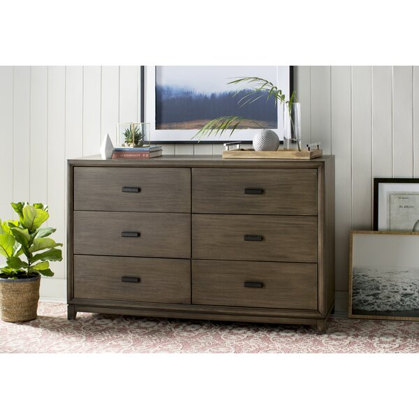 Merwin 6 Drawer Double Dresser by Gracie Oaks