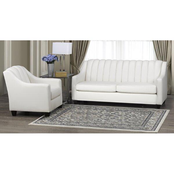 Charlton Home Leather Living Room Sets