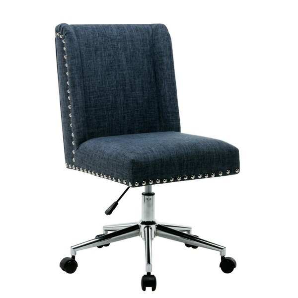 Lewisburg Studded Design Office Chair by Charlton Home