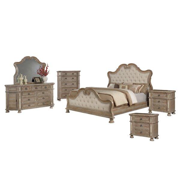 Ollis Standard 6 Piece Bedroom Set by Astoria Grand
