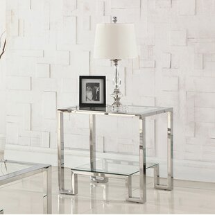Compare prices Mcauley End Table By Orren Ellis
