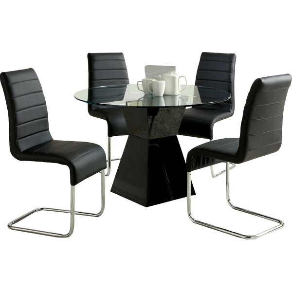 Chiron 5 Piece Dining Set by Orren Ellis