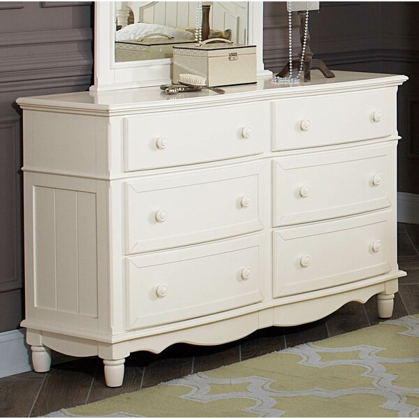 Lorrie Wooden 6 Drawer  Bachelors Chest by Canora Grey