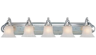 Reviews Bainsbury 5-Light Vanity Light By Alcott Hill