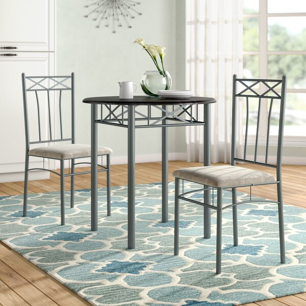 Cossey 3 Piece Dining Set by Fleur De Lis Living