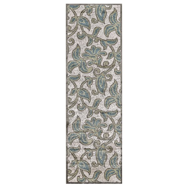 Snydertown Green/Grey Area Rug by Darby Home Co