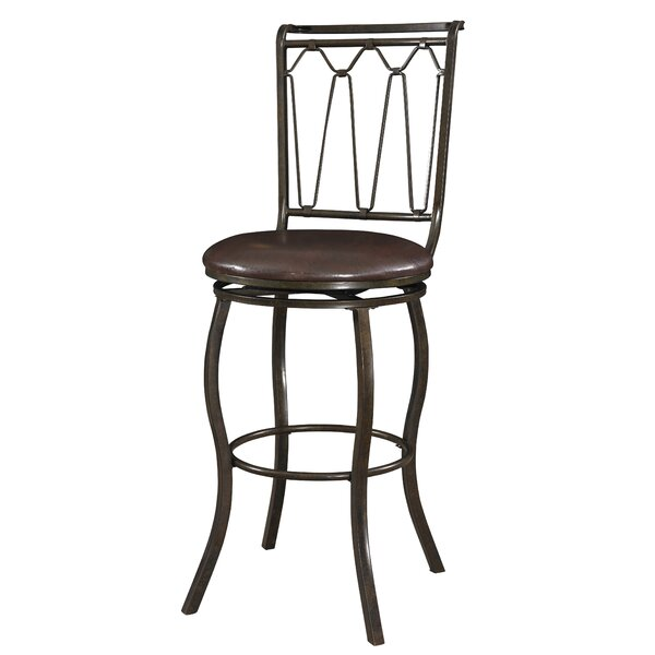 Hesser 30 Swivel Bar Stool by Darby Home Co