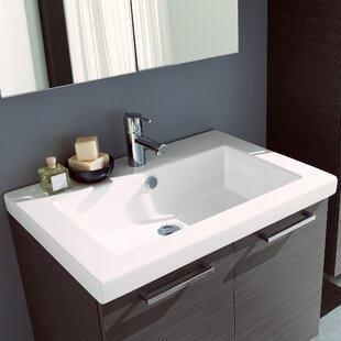 Best Reviews Welke Self Rimming Bathroom Sink By George Oliver