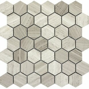 Large Hexagon Floor Tile | Wayfair