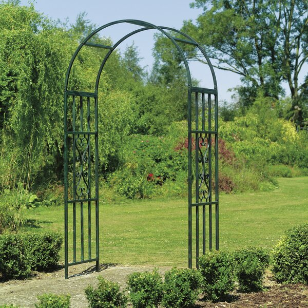 Kensington Steel Arbor by Gardman