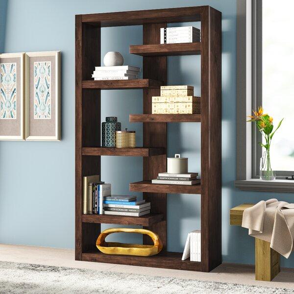 Yessenia Geometric Bookcase By Mistana