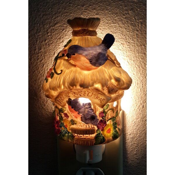 Lighted Mounted Birdhouse by Cosmos Gifts