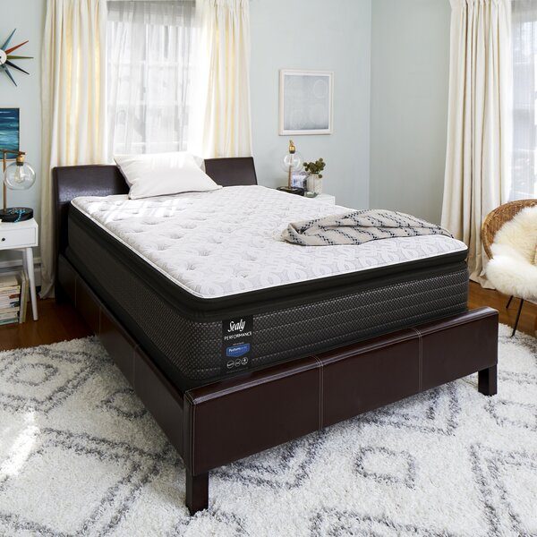 Response™ Performance 13.5 Plush Pillowtop Mattress and 5 Box Spring by Sealy