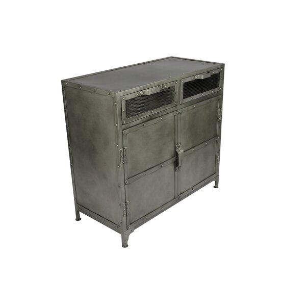 Yavonia 2 Door Accent Cabinet by 17 Stories