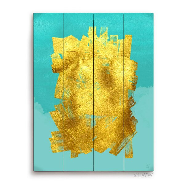 Abstract 2 Graphic Art Plaque by Click Wall Art