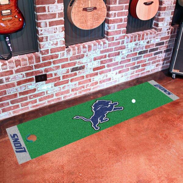 NFL Detroit Lions Putting Green Mat by FANMATS