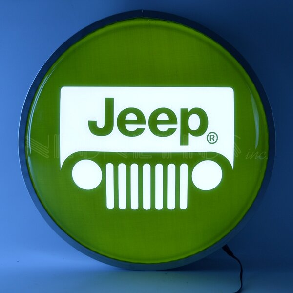 Jeep Backlit LED Lighted Sign by Neonetics