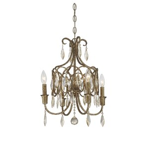 Embassy 4-Light Crystal Chandelier