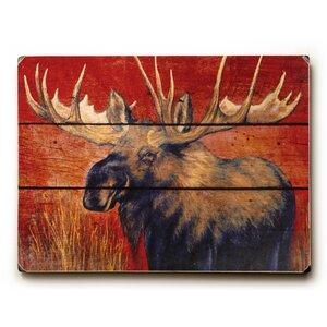 Moose Graphic Art by Loon Peak