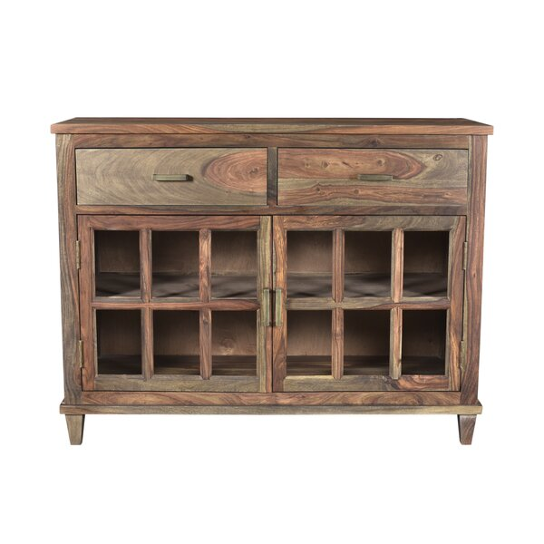 Koch Wood 2 Drawer Accent Cabinet by Union Rustic