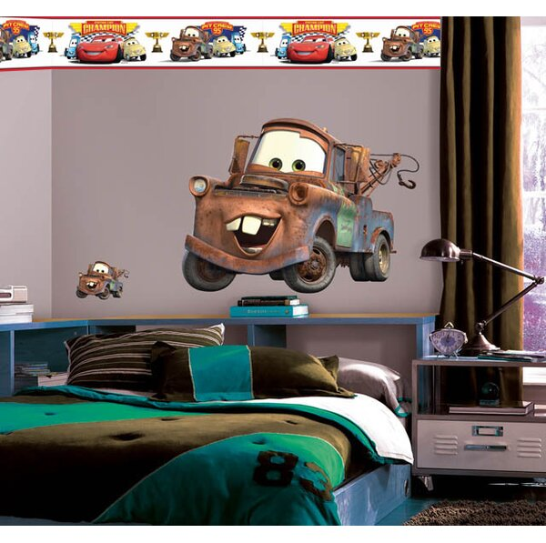 Disney Cars 2 Mater Room Makeover Wall Decal by Wallhogs