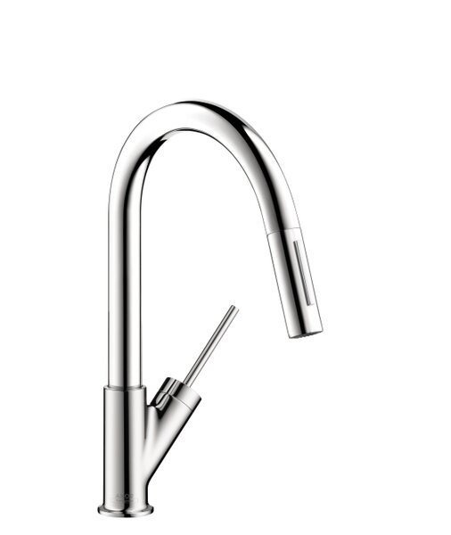 Axor Starck Single Handle Deck Mounted Bar Kitchen Faucet by Axor