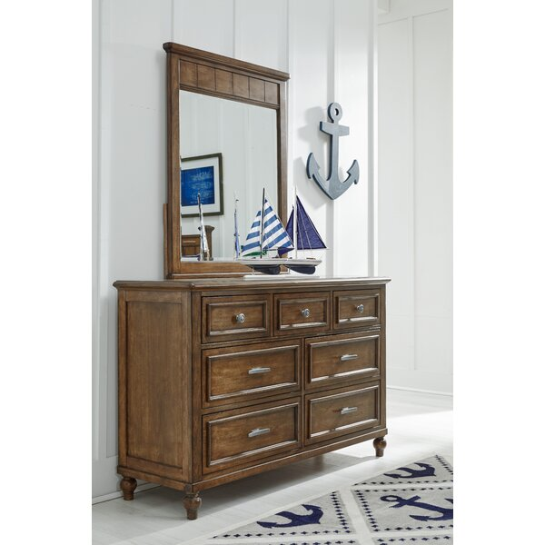 Frankel 7 Drawer Dresser with Mirror by Harriet Bee