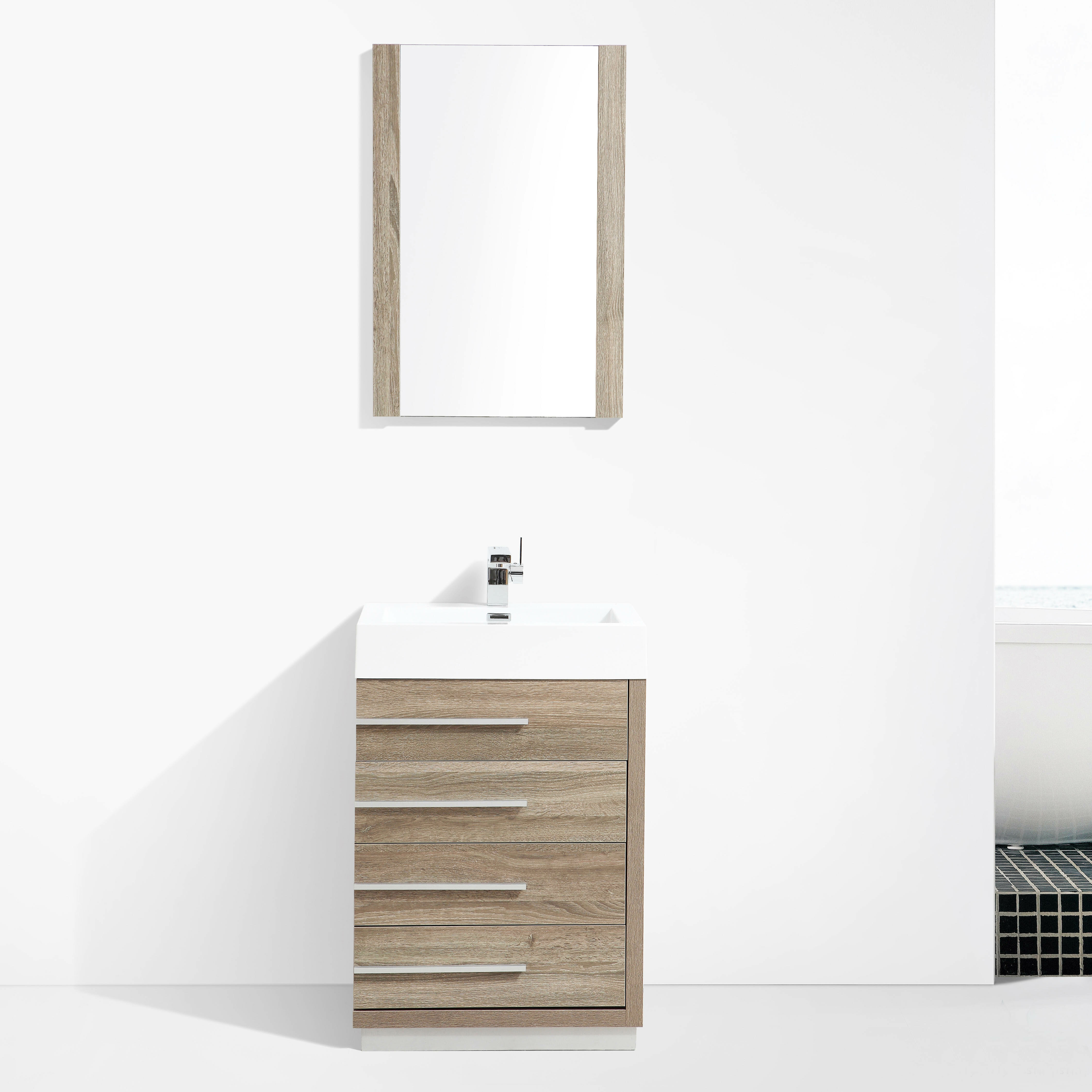all modern vanity