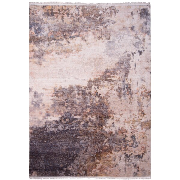 Bulter Beige Area Rug by Wrought Studio