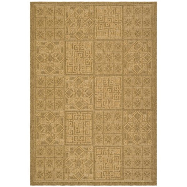 Herefordshire Gold Indoor/Outdoor Area Rug by Winston Porter
