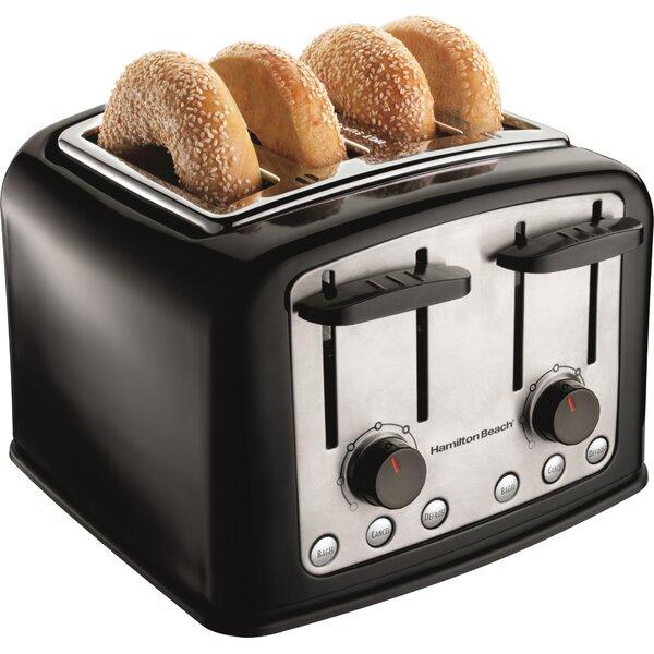 4 Slice Extra Wide Slot Toaster by Hamilton Beach