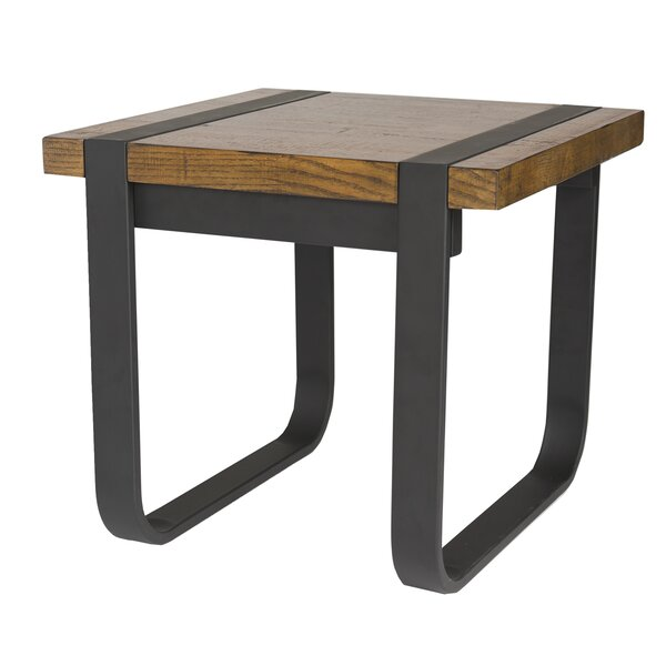 Langer End Table by Union Rustic