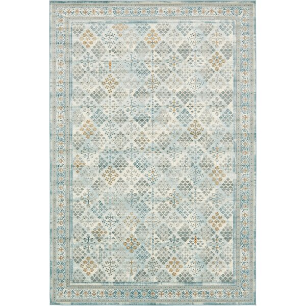 Hurst Blue Area Rug by World Menagerie