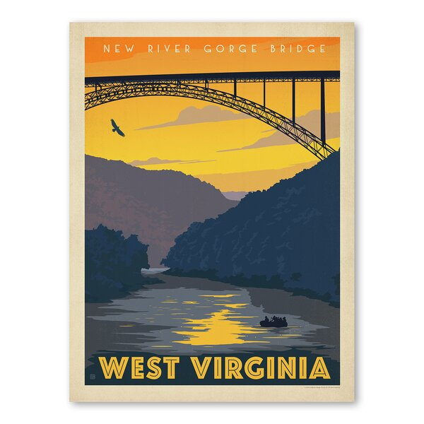 West Virginia Vintage Advertisement by East Urban Home