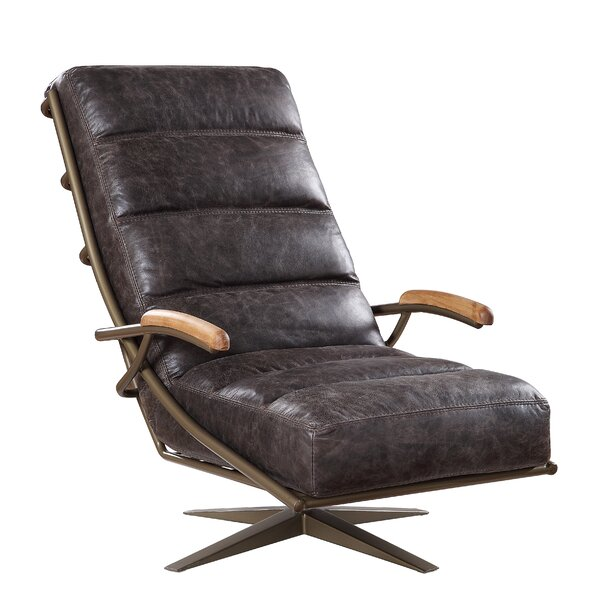 Rizzuto Swivel Lounge Chair By Union Rustic