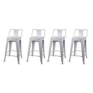 Price comparison Alric 24 Bar Stool (Set of 4) by 17 Stories