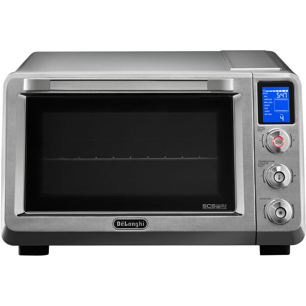 0.85 Cu. Ft. Livenza Convection Oven with Double Surround Cooking and 1 Rack by DeLonghi